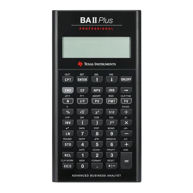 Texas Instruments TI-BA II Plus Profesional